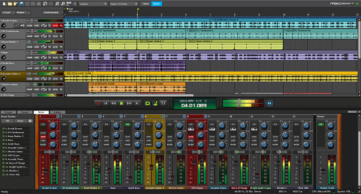 Mixcraft 7 Recording Software